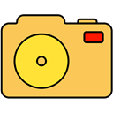 image, photo, picture, Camera SandyBrown icon