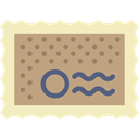 Stamp RosyBrown icon