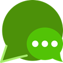 Chat OliveDrab icon