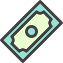 Dollar Symbol, banking, Business And Finance, Business, Currency, Money, Bank DarkSlateGray icon