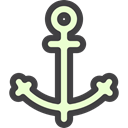sailing, tattoo, Tools And Utensils, Sailor, navy, Anchor, Anchors, miscellaneous, Holidays Black icon