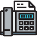 phone, electronics, phone call, Office Material, technology, Communications, Fax, telephone Silver icon