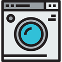 cleaning, Electrical Appliance, washing machine, Housekeeping, Furniture And Household, Clean, washing, wash Lavender icon