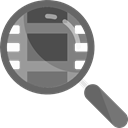detective, search, zoom, Tools And Utensils, magnifying glass, Loupe DimGray icon