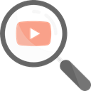 Loupe, zoom, search, Tools And Utensils, magnifying glass, detective, video player Black icon