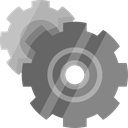 settings, Tools And Utensils, Gear, cogwheel, configuration Gray icon