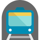 underground, train, transportation, Metro, tube, transport, Public transport DimGray icon