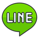 Communication, Social, online, network, media, line, internet Icon