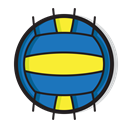 volleyball, Ball, Game, sports, play, sport Black icon