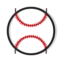 sport, Ball, play, sports, Game, baseball Black icon