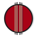 sports, play, sport, Cricket, Ball, Game Firebrick icon