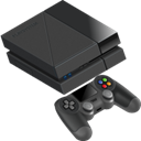 playsystem, Playstation 4, ps4 DarkSlateGray icon