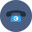 phone, Call, telephone DarkSlateBlue icon