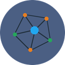 network, web, Connection, internet, computing DarkSlateBlue icon