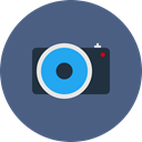 Camera, photo, photos, photography, Pictures DarkSlateBlue icon