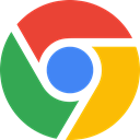 google, chrome Orange icon