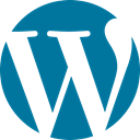 Wordpress DarkCyan icon