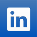 linked, Linkedin, social media, Social, network, social network, social icon, Linked in SteelBlue icon
