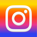 Instagram, Social, social media, photo, social icon, social network Gold icon