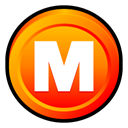 Megaupload, Badge Black icon
