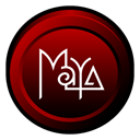 Maya, Badge Black icon