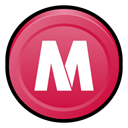 security, Center, Mcafee, Badge IndianRed icon