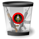 Recycled, Full Black icon