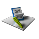 Schedule, date, write, Edit, writing, Calendar Black icon