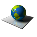 world, planet, globe, earth Black icon