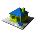 homepage, Home, house, Add, Building, plus Black icon