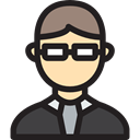 Boss, people, profile, Avatar, user, Social Black icon