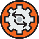 ui, settings, Process, cogwheel Lavender icon