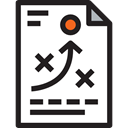 planning, plan, Business, strategy, sport, Business And Finance, tactics Black icon