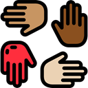 Charity, donation, Solidarity, Hands, Hands And Gestures Black icon