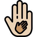 Charity, miscellaneous, Solidarity, Hand, support Wheat icon