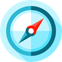 Tools And Utensils, Orientation, Direction, location, compass, Cardinal Points, miscellaneous PaleTurquoise icon