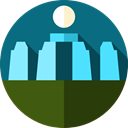 England, Stonehenge, landmark, uk, Monuments Teal icon