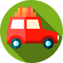 transportation, vehicle, transport, Car, Automobile OliveDrab icon