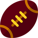Sports And Competition, sports, Team Sport, American football, team, equipment Maroon icon