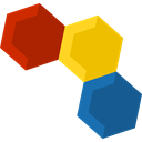 Molecule, science, education, nature, Molecular, Biology Icon