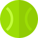 tennis, tennis ball, sport, sports, Sports Ball, Sports And Competition LawnGreen icon