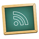 education, green, Black board, teaching, Rss, learn, teach, school, subscribe, feed DarkSlateGray icon
