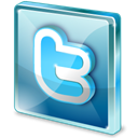 twitter, Social, Sn, social network Black icon
