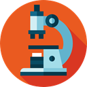 scientific, Tools And Utensils, medical, microscope, science, Observation, education Chocolate icon