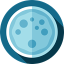 Biology, education, Laboratory Equipment, Experimentation, Petri Dish SkyBlue icon