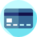 card, Business And Finance, credit, Money, Credit card, Commerce And Shopping, payment SteelBlue icon