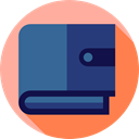 Business And Finance, Bill, Business, payment method, banking, Money, Cash, wallet, pay SteelBlue icon