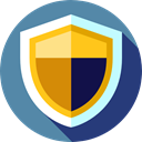 secure, security, shield, defense, Antivirus SteelBlue icon
