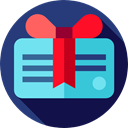 gift card, Debit card, payment method, Business, commerce, Business And Finance MidnightBlue icon