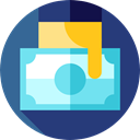 Money, Business And Finance, Commerce And Shopping, commerce, Business, Bank, refund, financial DarkSlateBlue icon